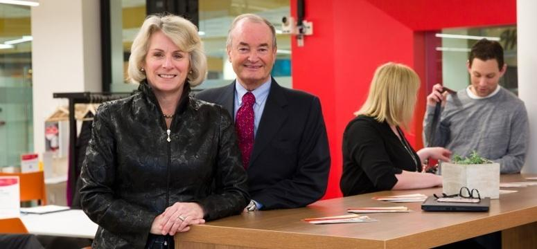 University of Calgary President Elizabeth Cannon and her husband, Gérard Lachapelle, professor emeritus in the Schulich School of Engineering, are donating $1 million to create the Cannon Lachapelle Award in Entrepreneurial Thinking.
